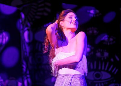 Der blaue Engel als Lola / Kammertheater Karlsruhe; Foto:ONUK