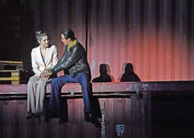 Saturday Night Fever als Stephanie Mangano / Walenseebühne (CH); Foto: Jef Kratochvil